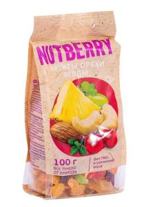Смесь NUTBERRYорехифруктыягоды100гр