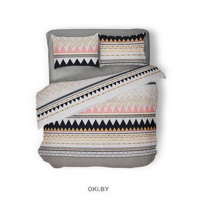 Комплект постельного белья 1,5-спальный Ацтеко (п. 215х153, пр. 220х145, н. 70х70-2шт. ) арт. 4530