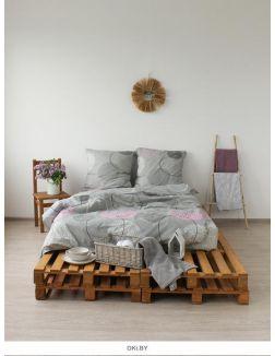 Комплект постельного белья 2-спальный Раунд (п. 215х175, пр. 220х210, н. 70х70 - 2 шт. ) арт. 41251