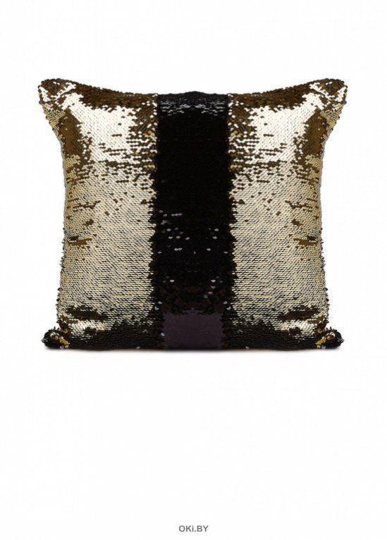 Подушка декоративная «РУСАЛКА» цвет черный