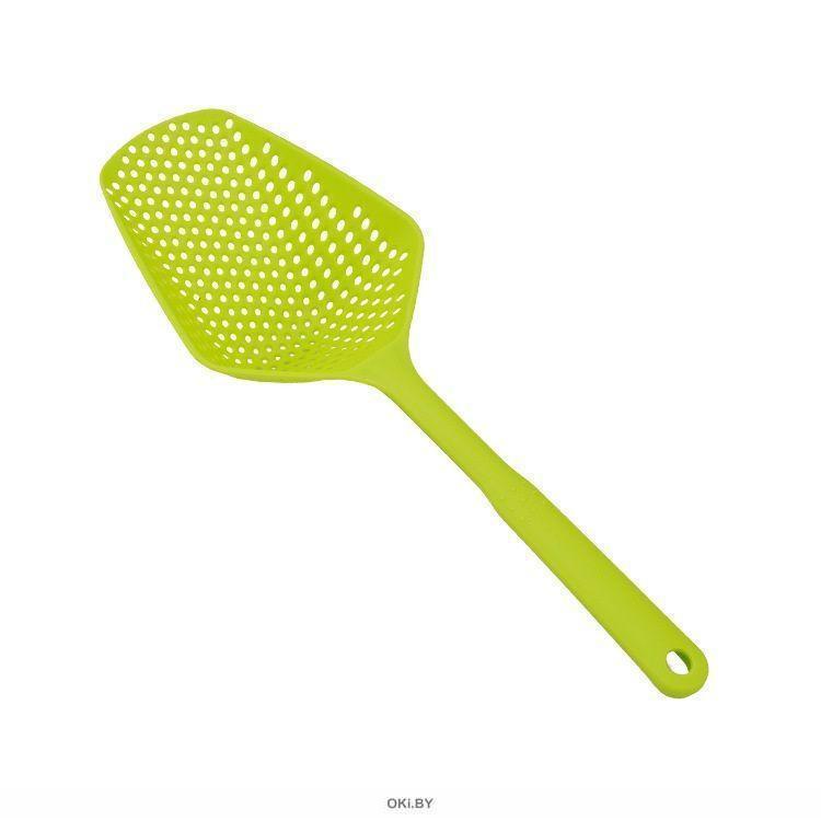 Ложка-шумовка, зеленая