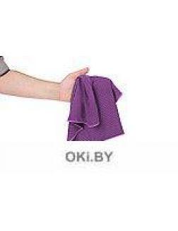 Полотенце охлаждающее в бутылке, фиолетовое