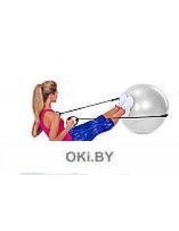Мяч для фитнеса «ФИТБОЛ-65 с эспандерами»
