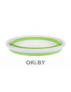 Таз складной 9 л, зеленый