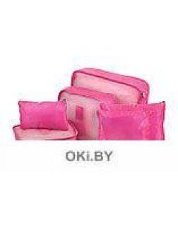 Набор органайзеров Bradex 6 штук однотонные цвет розовый
