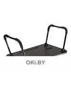 Стол складной с подстаканником «ЛАЙТ», 59,5x39,5x26,4см, мдф, металл, темн. дерево, чёрный