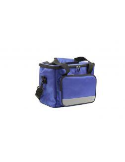 Сумка-холодильник на ремне 33х23х28 см, цвет синий