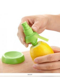 Насадки-пульверизаторы для извлечения сока из цитрусовых фруктов
