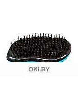 Расческа для распутывания волос «НОУ ТЭНГЛЗ» 12х8 см, синяя