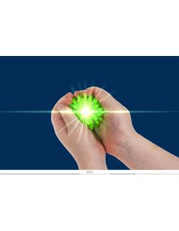 Массажный шарик (5,5 см) с подсветкой