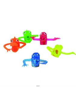 Набор пальчиковых игрушек «Зубастики», 5 штук