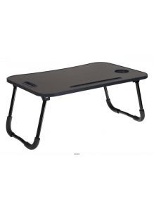 Стол складной с подстаканником Bradex «ЛАЙТ» темное дерево