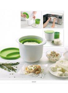 Аппарат для приготовления домашнего творога и сыра «НЕЖНОЕ ЛАКОМСТВО», зеленый