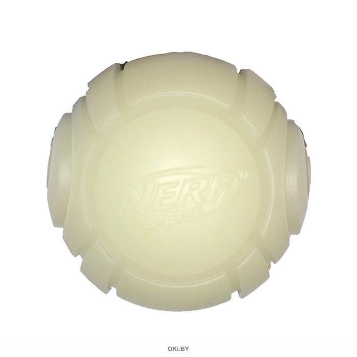 Мяч теннисный для бластера блестящий НЁРФ 6 см (30731)