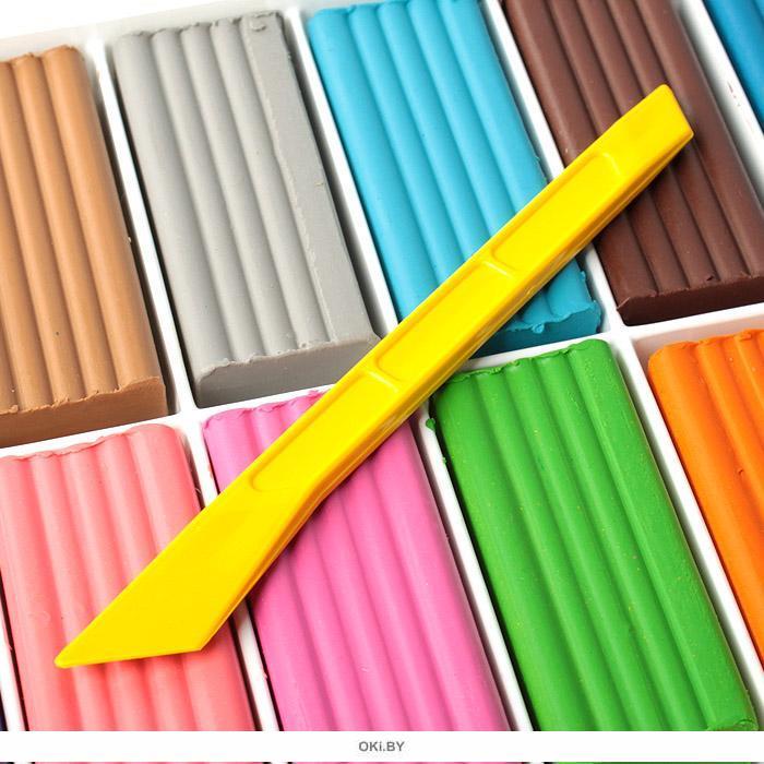 Пластилин 16 цветов серия