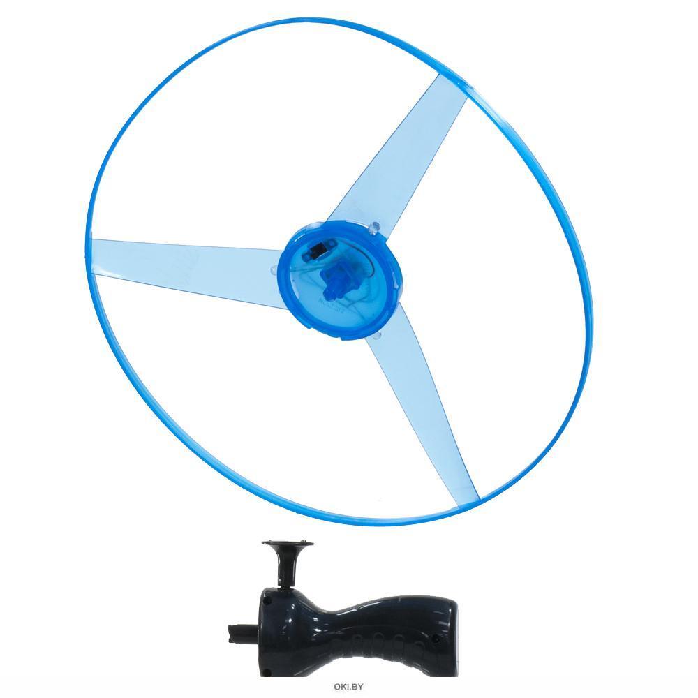 Набор летающих дисков светящихся 24,5 см с запуском (арт. 48000)