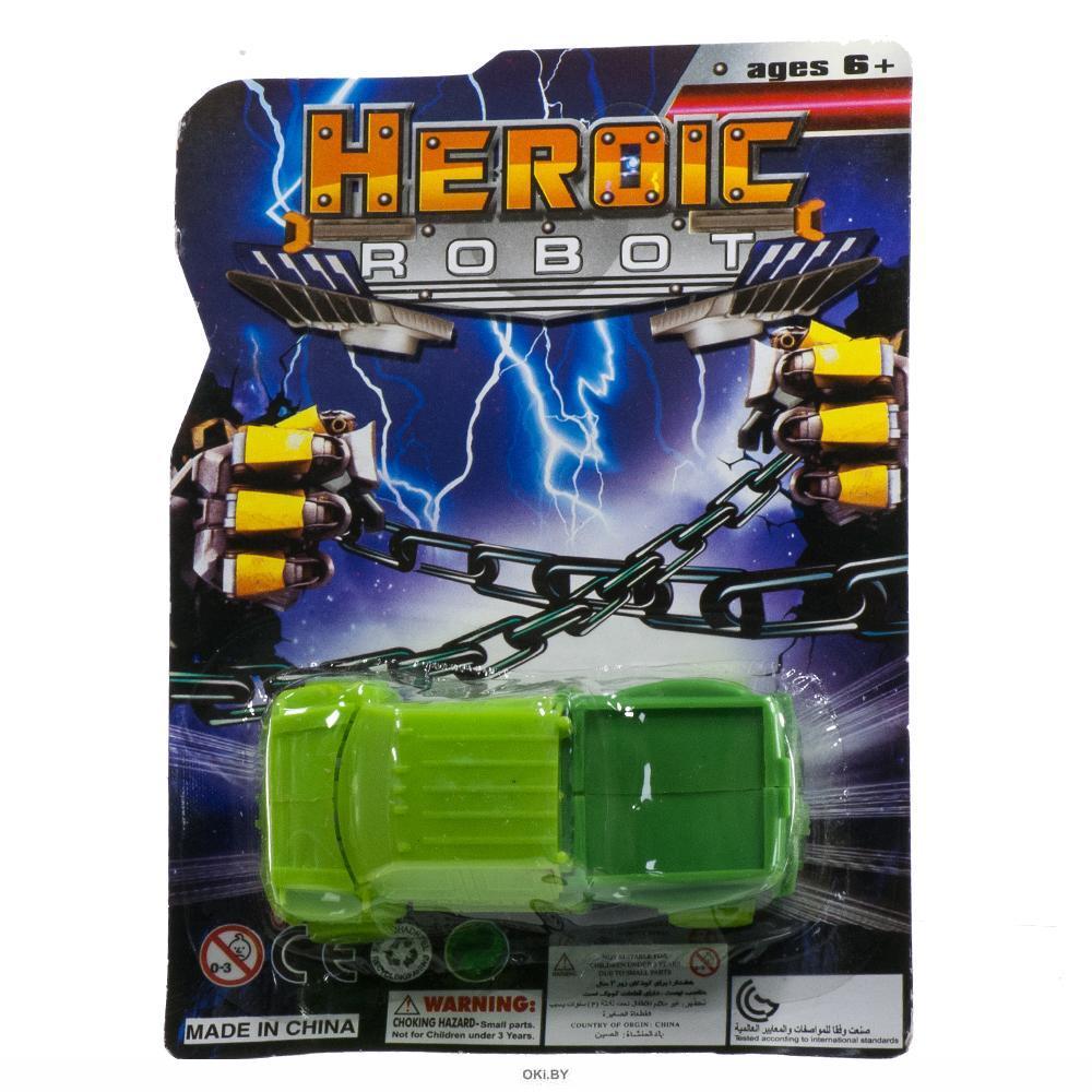 Трансформер-машина HeroicRobot в ассортименте (арт. 43167)