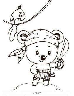 Мишутка № 14 (21) Раскраска с заданиями «Играю! Рисую! Фантазирую!»