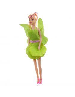 Кукла с крыльями и аксессуарами цветная