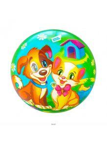 Мяч «Котенок и щенок» 23 см