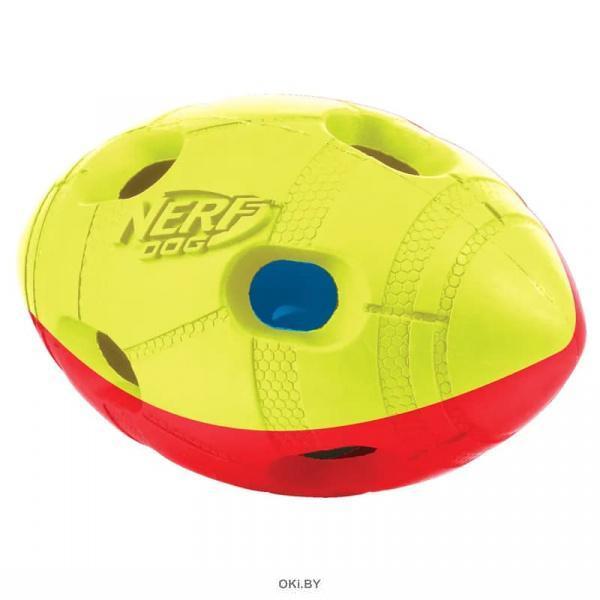 Мяч гандбольный двухцветный светящийся НЁРФ 13 см (35378)