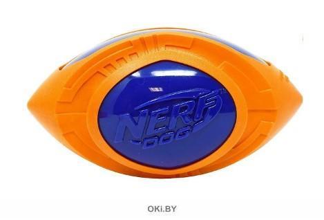Мяч для регби из термопластичной резины НЁРФ 18 см (серия