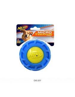 Мяч рифленый из термопластичной резины НЁРФ 10 см (серия