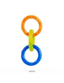 Игрушка Кольца-грейфер НЁРФ 27 см (синий / оранжевый / зеленый) 56133