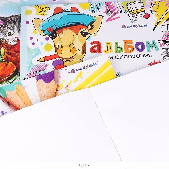 Альбом для рисования 20 листов на склейке