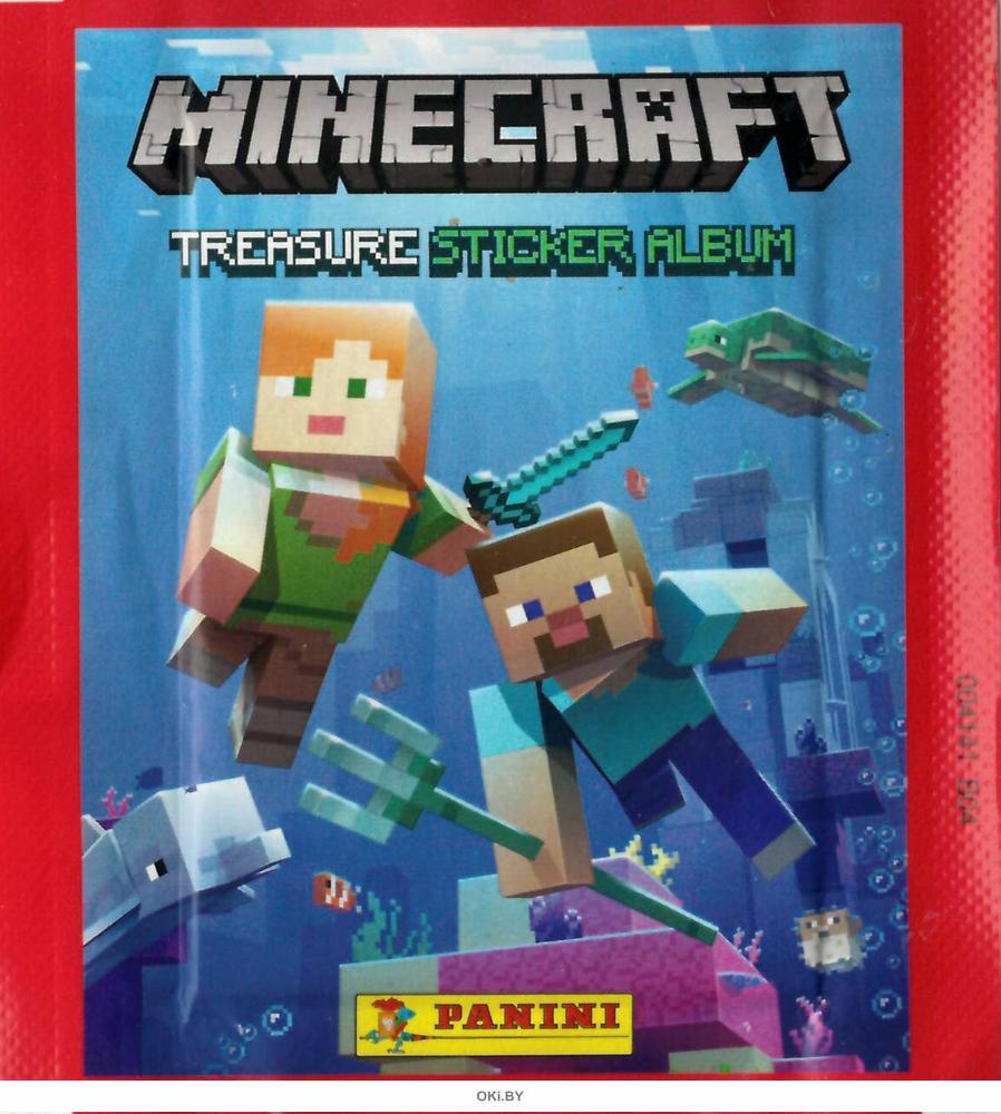 Наклейки Panini Minecraft