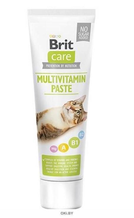 Brit Care Cat паста мультивитамин 100 г 545827