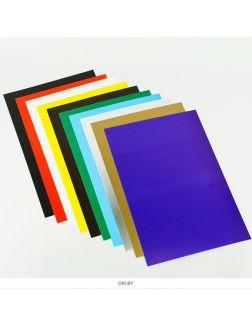 Картон цветной