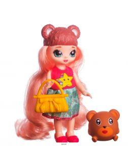 Кукла «Pet dolls» 16 см с одеждой, аксессуарами и питомцем в 3 вида в ассортименте (арт. LK1095)