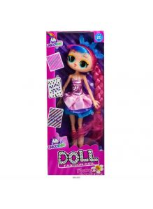 Кукла «Fashion girl» с косой 25 см 2 вида в ассортименте (арт. 11800)