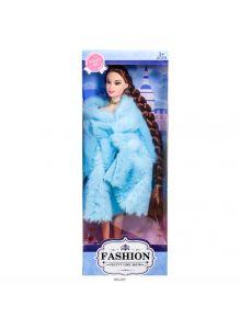 Кукла «Fashion» с косой в шубке 30 см 3 вида в ассортименте