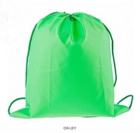 Мешок для обуви 40х33 см зеленый