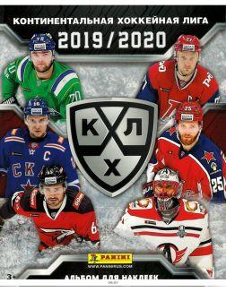 Альбом Panini Хоккей КХЛ 2019-20 (ДЕФЕКТ)