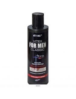 Лосьон после бритья для всех типов кожи 200 мл VITEX FOR MEN CLASSIC