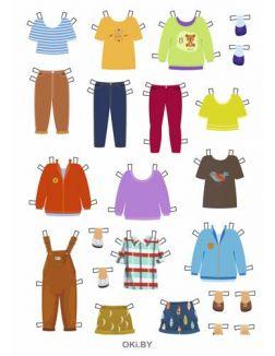 Модная семья. Вырезные куколки. Разбуди смекалку  59 / 2021