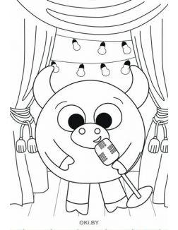 Раскраска «Малыши-кругляши». Раскраска в ассортименте 6 / 2021