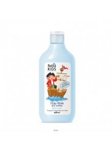 Гель-пена для ванны «Остров сокровищ» 300 мл Belita Kids. Для мальчиков 3-7 лет