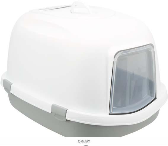 Туалет-домик 56 x 47 x 71 см серый / белый TRIXIE Primo XXL
