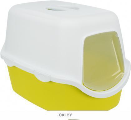 Туалет-домик 40 х 40 х 56 см лайм-белый TRIXIE Vico