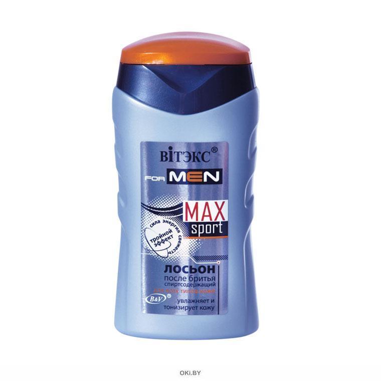 ЛОСЬОН после бритья для всех типов кожи 150 мл FOR MEN MAX Sport