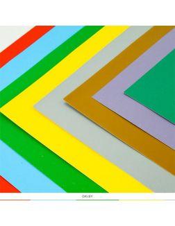 Картон цветной перламутровый 8 листов 8 цветов 20х28 см