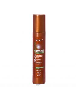 ЛАК для волос  с жидким кератином СУПЕРСильной фиксации 215 мл KERATIN STYLing