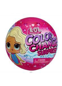 LOL Surprise / ЛОЛ Сюрприз. Кукла серия Колор Color Change Surprise PDQ (576341EUC)