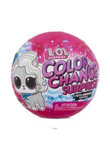 LOL Surprise / ЛОЛ Сюрприз. Питомец серия Колор Color Change Surprise PDQ (576334EUC, l. o. l. )