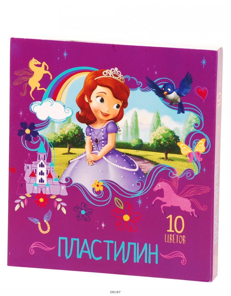 Пластилин Disney «София» 10 цветов (арт. 29420)