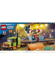 Грузовик для шоу каскадёров (Лего / Lego city)